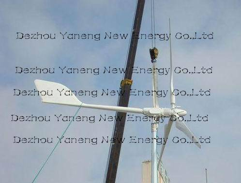 Pitch controlled wind turbine 10kw (ce-approved)