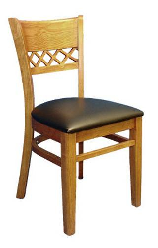 Restaurant Wooden Seat / Wood Chair (ALL-1008)