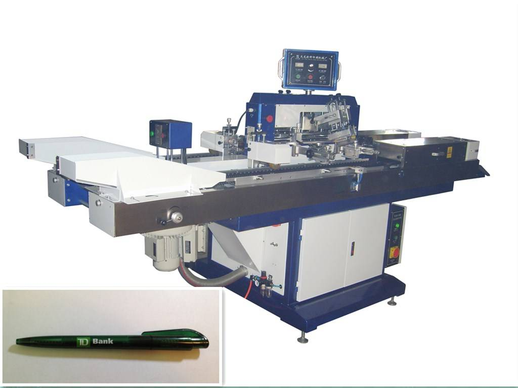 AUTOMATIC MULTI COLOR GIFT PEN SCREEN PRINTER