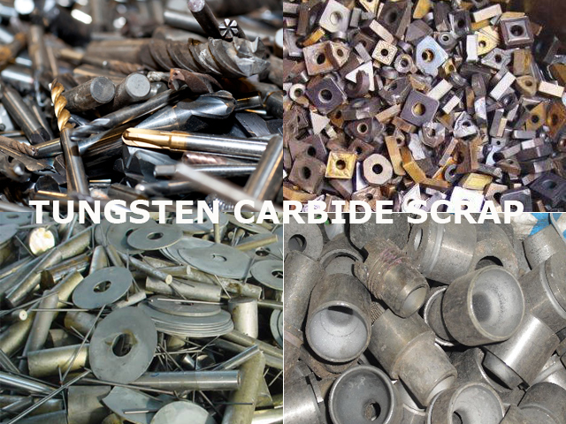 We buy for Tungsten Carbide Scrap (Tools scrap)