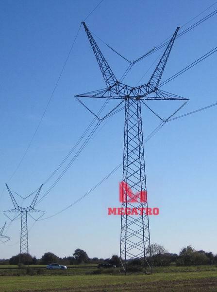 Y Frame steel tower (MGP-Y400)