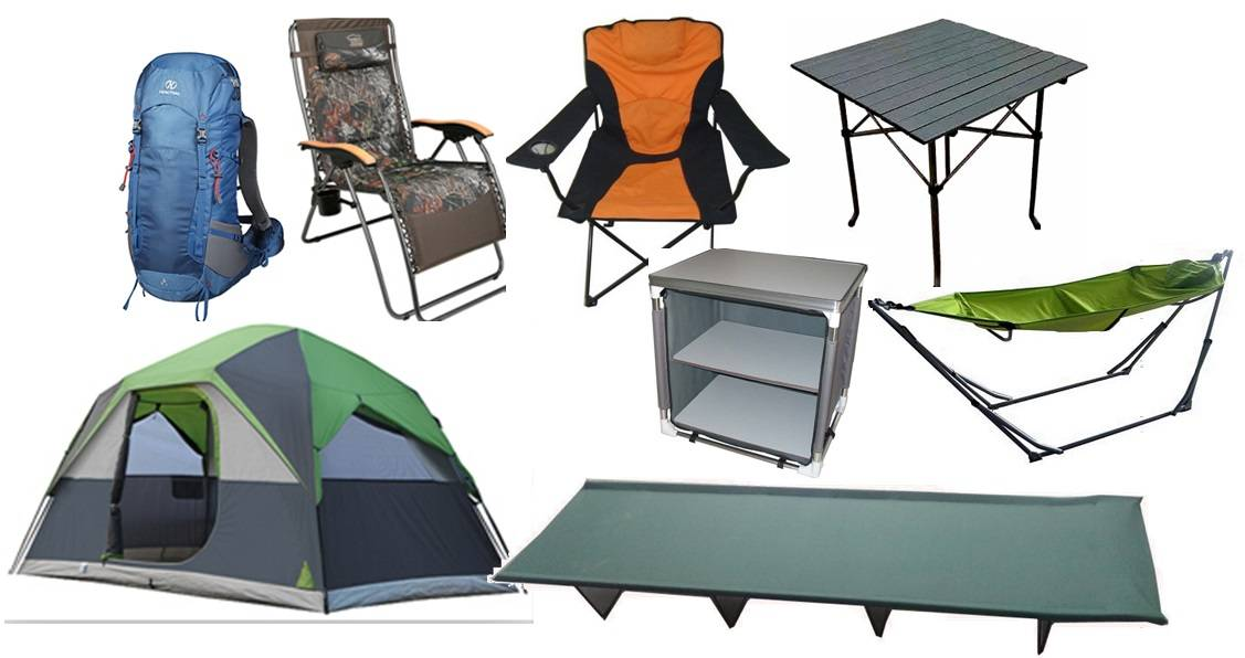 stretcher/tent/mountaineering bag/folding chair(bed)/camping table/Camping Cupboard(chair)