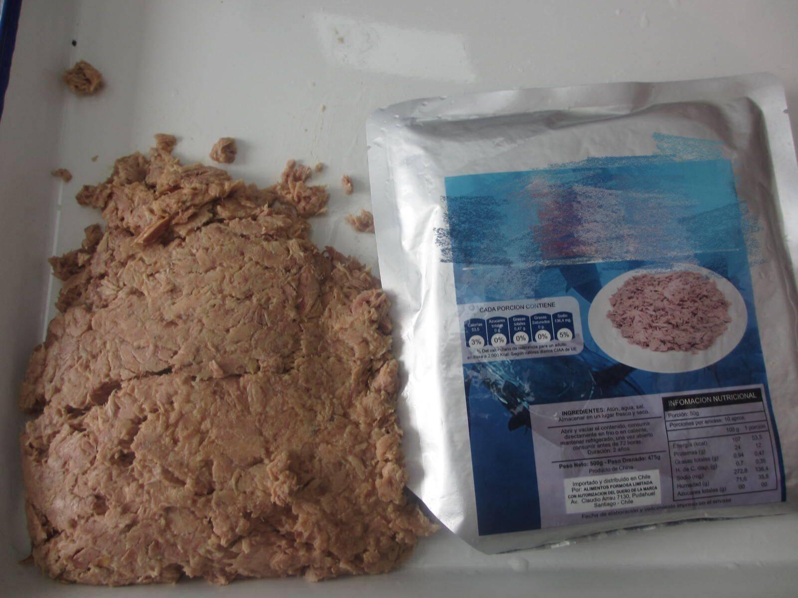 Vacuum Pouch Pack Tuna 500g