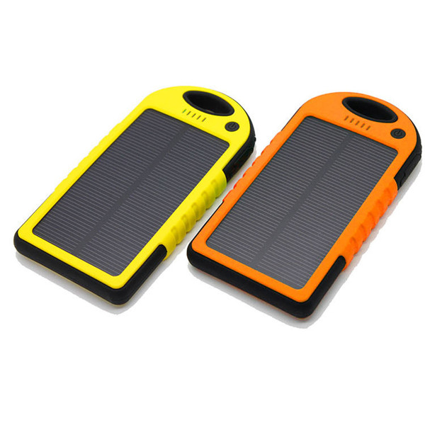 Solar power supply, 5000mAh power source