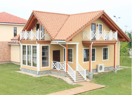 fiber cement siding / fireproof heat-insulation / decoration / building material /exterior wall 16mm