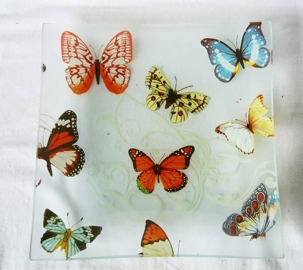 applique glass plate