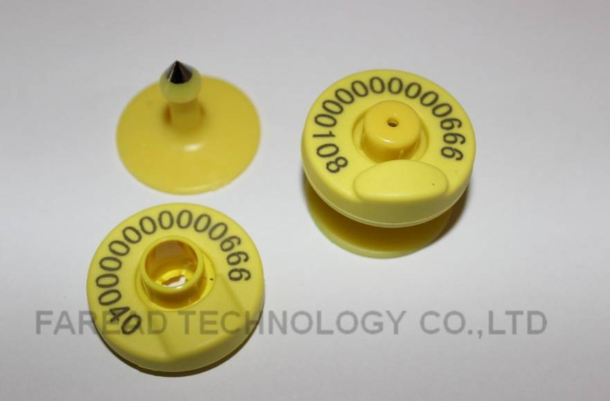 sell RFID animal ear tag for animal identification
