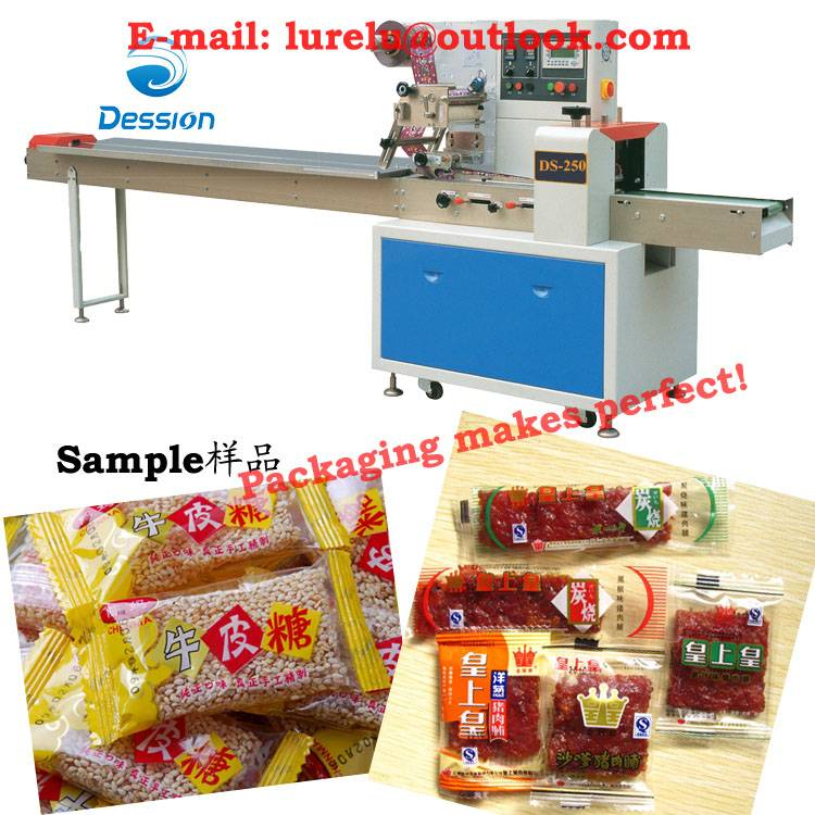 Packaging machine for bacon/tasajo/beef jerky/pork jerky/sausage packing machine automatic packer