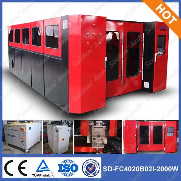 SD-FC4020-2000W fiber laser cutting machine for sheet