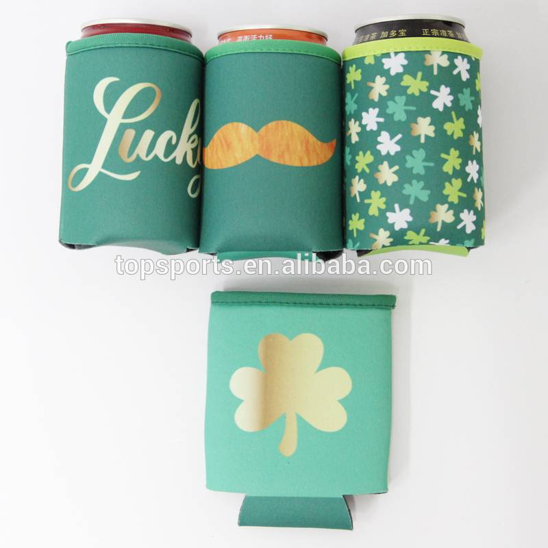 Cheap Customized Neoprene stubby Cooler magnetic can cooler