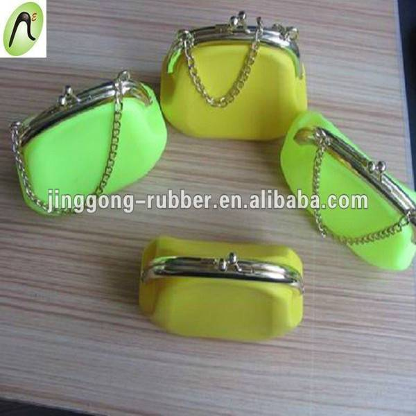 Mini silicone handbag,silicone change purse
