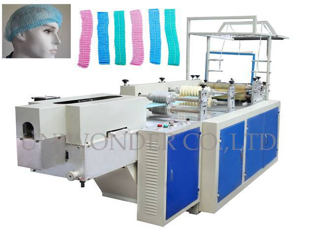 Automatic Non-woven Strip Cap Making Machine