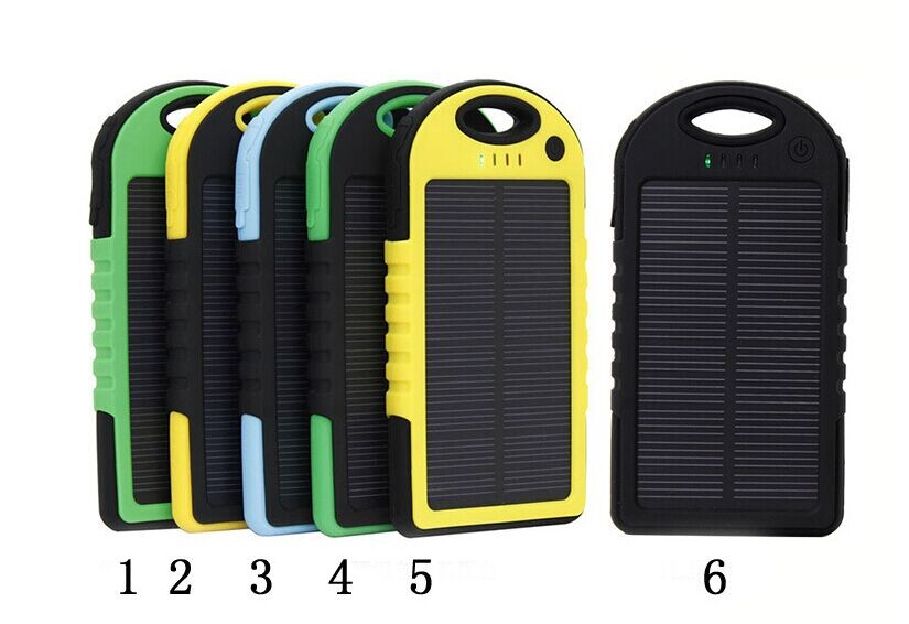 emergency led camping light solar charger 5000mah