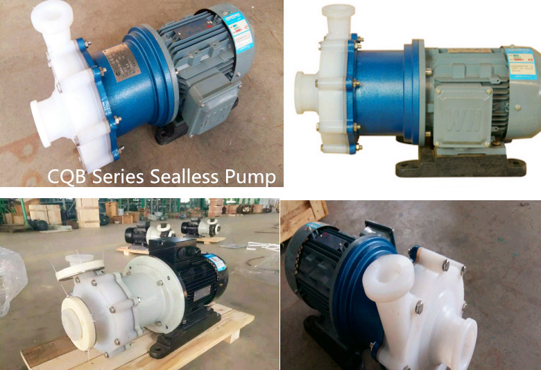 Sell CQB Sealless Magnetic coupled Pump