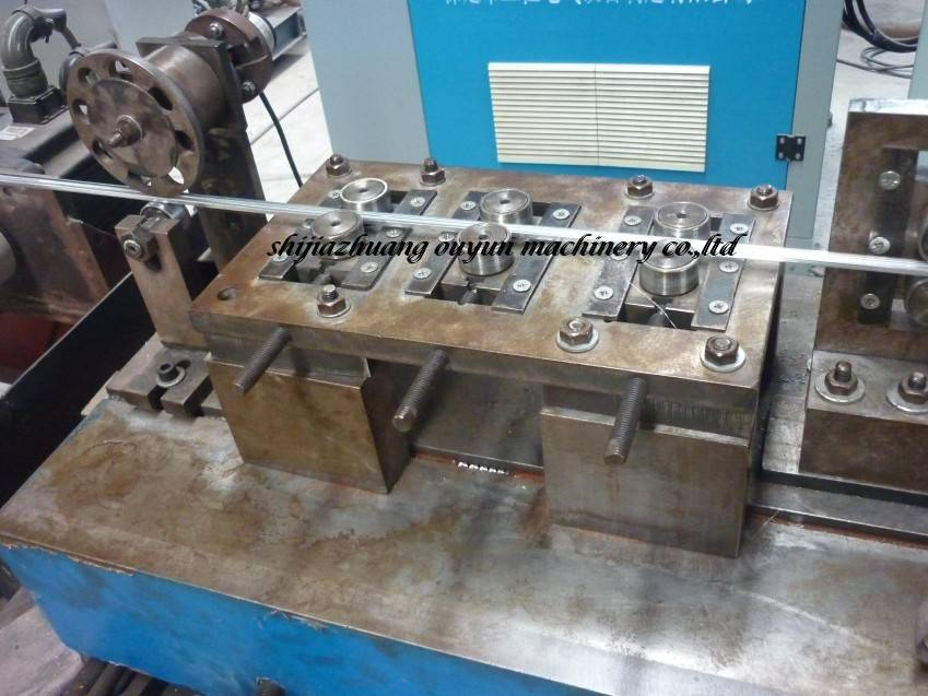 High Frequency Welding Aluminum Spacer Bar Production Line