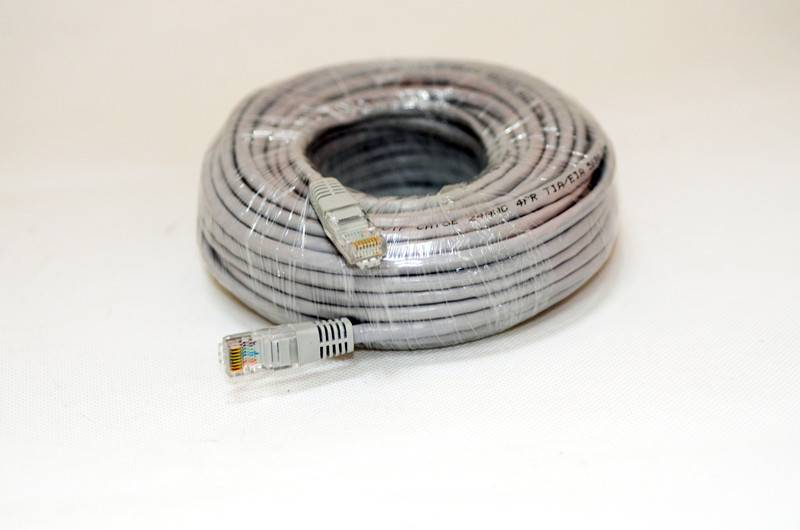 Network Cable - High Quality / Cat5e (enhanced) / RJ45 / Ethernet / Patch / LAN / Route