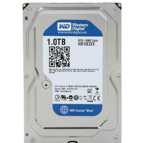 Western Digital WD10EZEX WD Blue 1TB Internal HDD 3.5 Desktop Hard Drive Disk