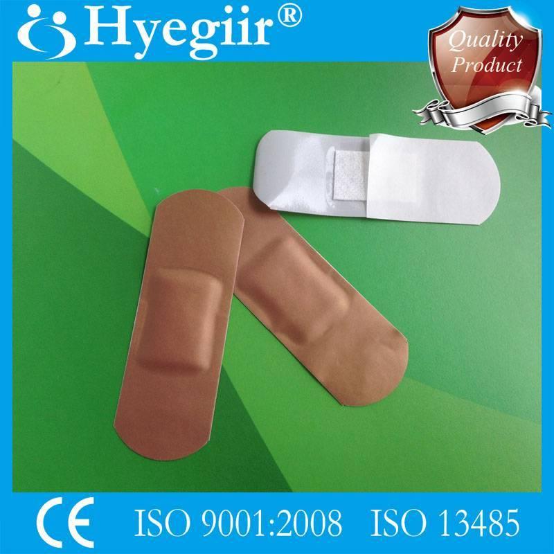 Tan-skin tone PE wound plaster
