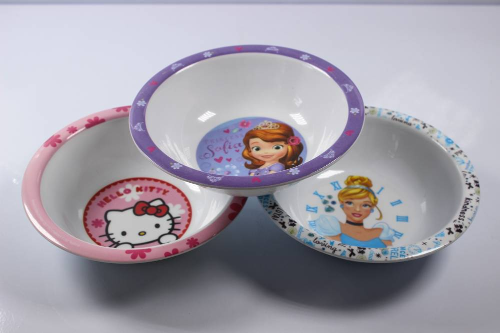 6.3'' webbing children melamine bowl