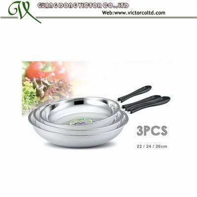Stainless steel wok Set
