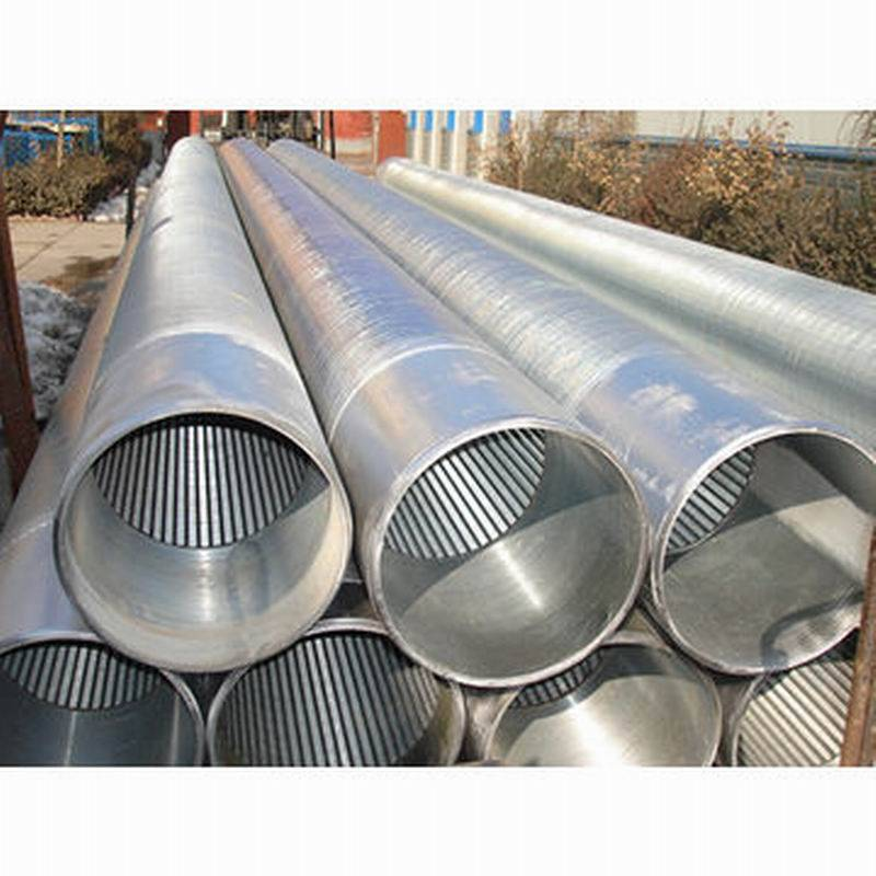 johnson type wedge wire screen / v wire water well screen