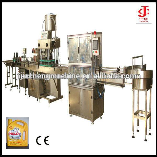 Aumatic Turbine Oil Packaging Line