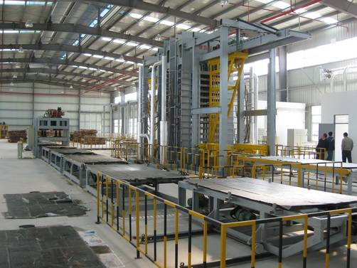 Hot Pressing Scrimber, Strand Woven Bamboo Production Line