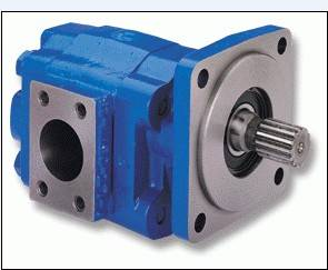 Permco gear pumps and motor for oil and gas industry excavator crane