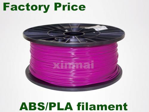 Rapid prototyping plastic rods 1.75mm 3.0mm ABS PLA 3D printer filament
