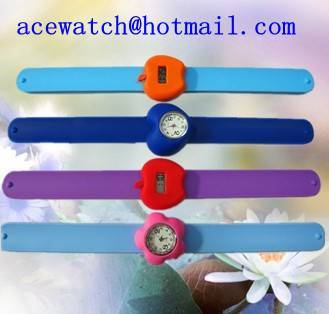 silicone watch silica gel wristwatches C