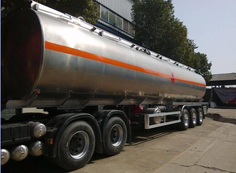 Hot Sale Aluminum tanker semitrailer