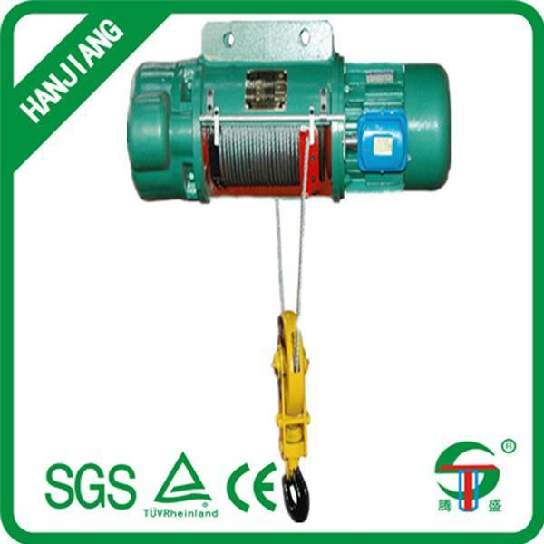 200kg 220v wire rope electric hoist