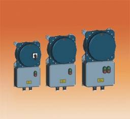 Explosion proof electromagnetic starter