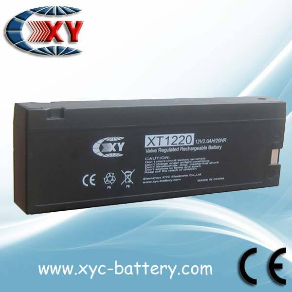 12V2.3AH camera batteries, rechargeable lead acid battery