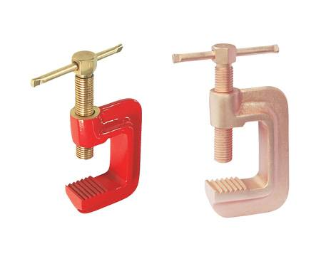 Non-Sparking, Non-Magnetic, Corrosion-Resistant Clamp