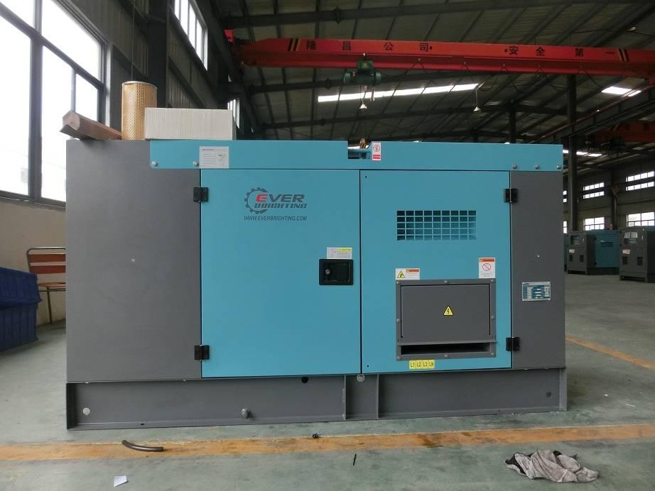 Deutz Engine Free Energy Silent 220 volt 60kva Electric Portable Generator