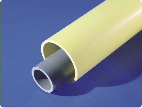 pvc cable pipes