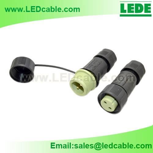 LED Waterproof Connector, IP68 waterproof Connector