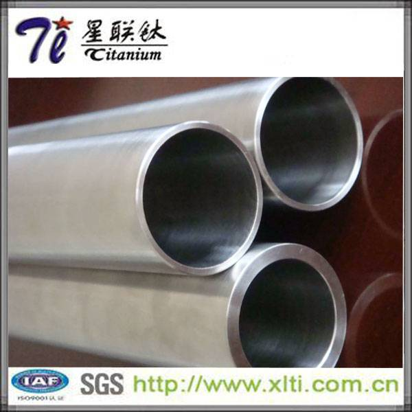 Supply Gr5 alloy titanium pipe for heat exchangers