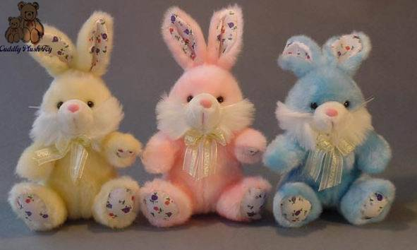 Plush Soft Bunny for Easter