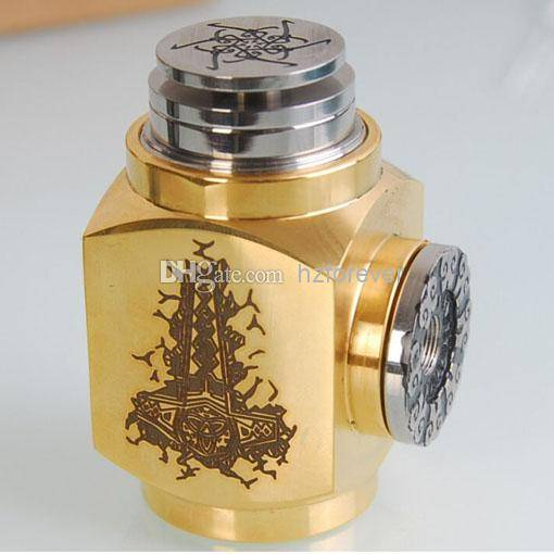 Wholesale - 2014 New Gold hammer mod clone hammer 18350 e cigarette fashion design Device hammer mod