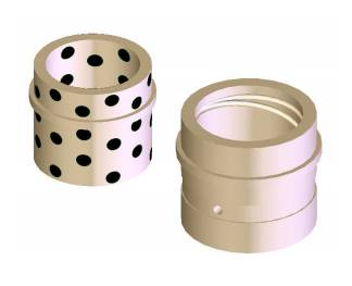 Guided Ejector Bronze Bushings
