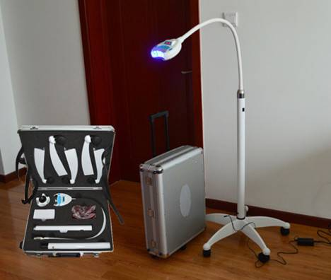 Most popular 12 pcs led light with RF IC card teeth whitening system bleaching light dental equipme