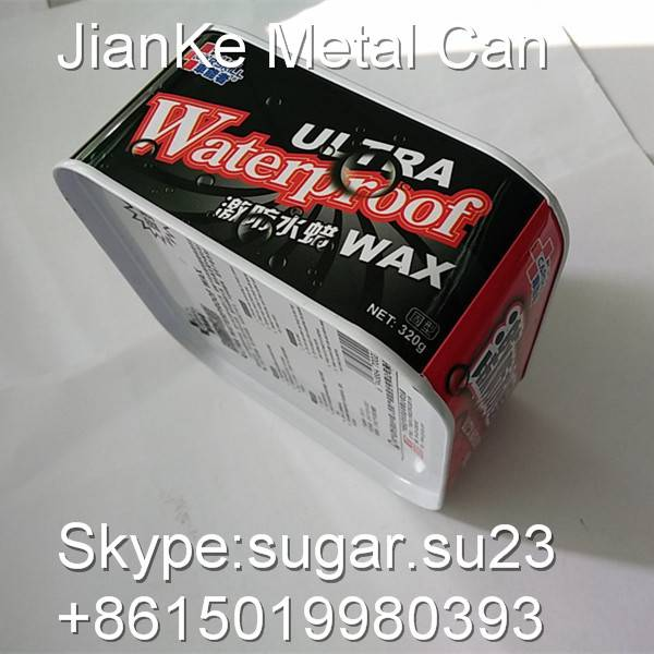 Metal cans for car care products