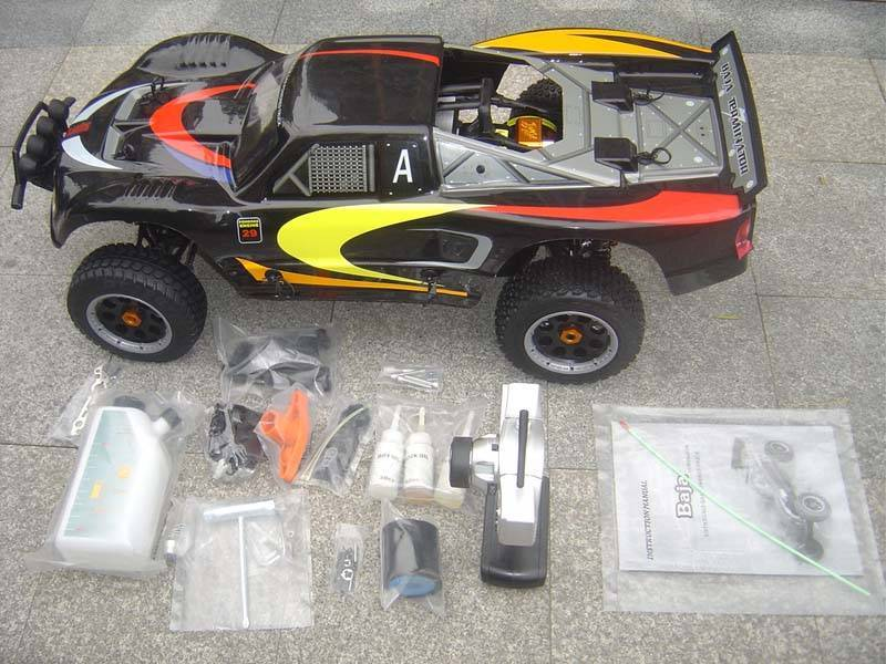 Updated Racing KM3.0 Baja 5T 29cc R/C Truck