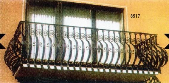 wrought iron window guard