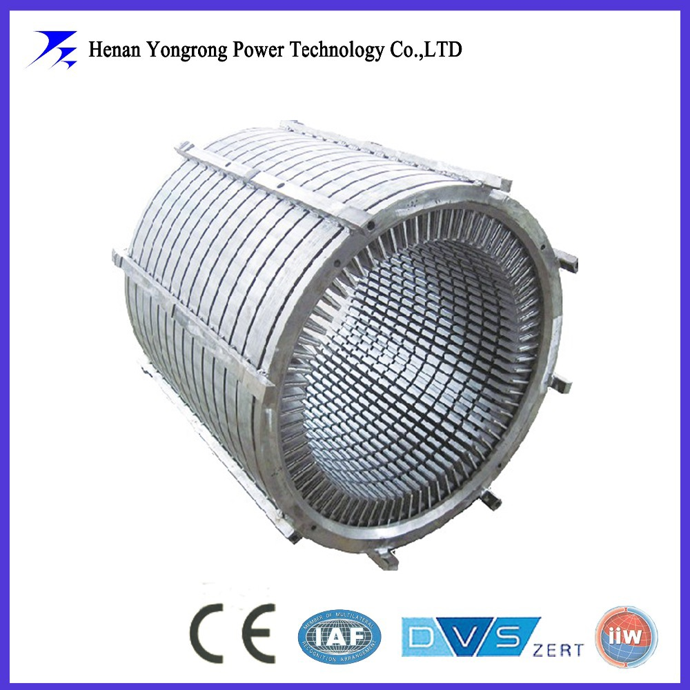 stamping stator rotor core for high voltage generator