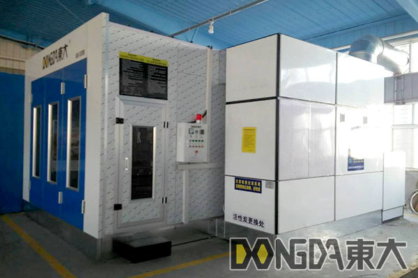 Paint booth from CHINA DD-3000