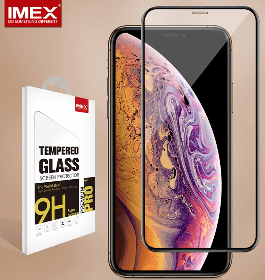 3D FULL COVERED GLASS FOR IPHONE XS
