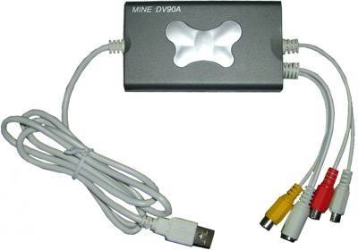 professinal USB2.0 one channel audio and video capture